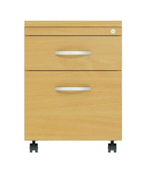 Mobile 2 Drawer Pedestal