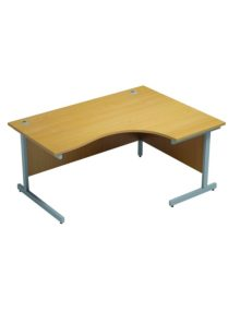 1600mm Radial Desk