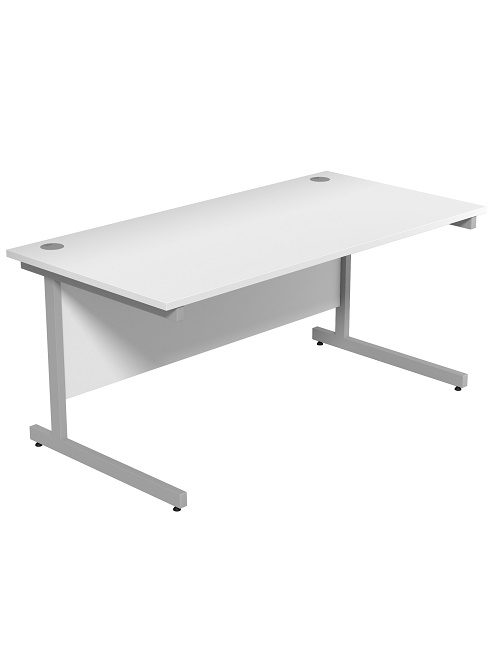 White 1600mm Office Desks